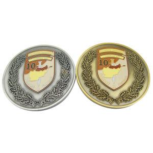 Angepasst ringsum 3D Support&Protect Firmenzeichen-Zink-Legierungs-Metallgedenkmünze (166)