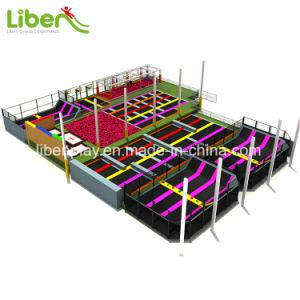 Sky Zone commerciale de vente chaude Grand trampoline d'intérieur Park