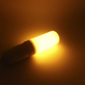 E14 5W Lâmpada de chama com 3 modos+Sensor de gravidade chama de fogo Vintage da lâmpada LED luzes piscando