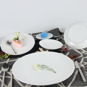 Porselein van China van de Levering van het Hotel van de multi-specificatie het Elegante om Plaat