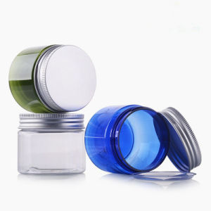 スキンケアのための円形ペットゆとりの装飾的な瓶