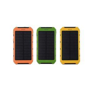 El doble de energía solar cargador USB Banco 15.000 mAh y de teléfono móvil Banco de Energía Solar