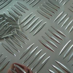 Five Bars를 위한 반대로 Slippy Aluminum Checkered Plate Sheet Tread Plate