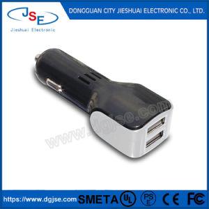 Высокое качество 5V/4.8A двойные порты USB автомобильное зарядное устройство для мобильных телефонов