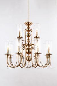 Дизайнер интерьера современных Лампы из прозрачного стекла тени подвесной светильник