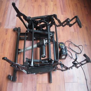 12V 24V DC Actuador lineal eléctrico del motor para el sofá