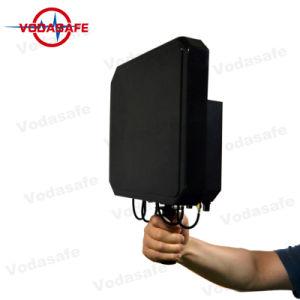 De Draagbare 6baste Stoorzender van de hoge Macht/Blocker, de Macht van de Output 80W; Van de dekking Straal 20100m, Al Mobiele Telefoon 3G/2g (GSM/CDMA/DCS) /4glte/Wi-Fi2.4G