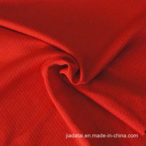 赤いポリエステル適性のための六角形のメッシュ生地を編むトリコット
