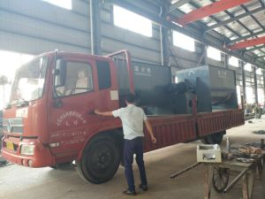 2 Mt Industrie-horizontaler Farbband-Mischer-China-Hersteller