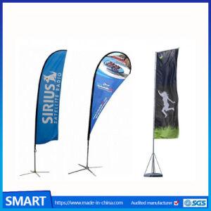 工場価格の屋外の昇進のカスタム広告の飛行の旗の羽のフラグ