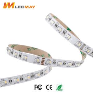 SMD3527 RGB+W UL CE RoHS Ahorro de energía de luz LED tira