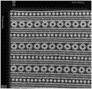 女性の着服のためのナイロンおよび綿の網のレースファブリック