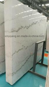 建物の装飾のためのGuangxiの安い中国の白い大理石の平板及び床タイル