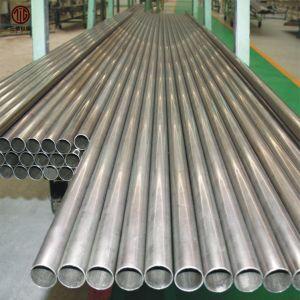 Buis van het Titanium van de Legering van het Titanium van de Prijs van de Fabriek van China de Naadloze of Gelaste Zuivere