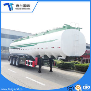 3つの車軸ディーゼルか半ガソリンまたは航空燈油の石油燃料のタンカーのトレーラー
