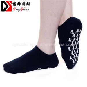 卸し売りカスタム純粋なカラートランポリンの足首の服のソックス