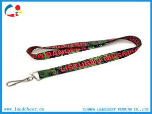 Customized Advertising Promotional Polyester Lanyard Dye Sublimation