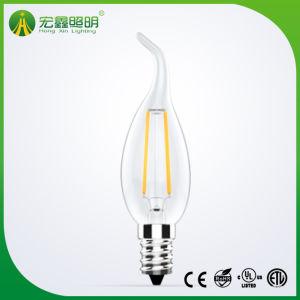 Bougie LED Lampe à incandescence E12 E17 2W 4W 6C35 W à intensité réglable LED spot ampoule 2700K