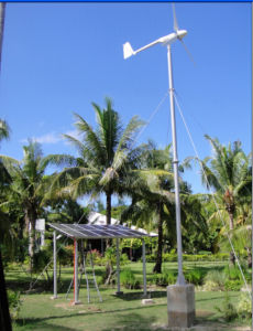 Ah-5kw Pitch Controlled AN/AUS-Grid Type Low Anfang Wind Power Generator