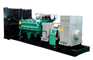 1600kw 2000kVA High Voltage Diesel Generator Set 3kv-13.8kv