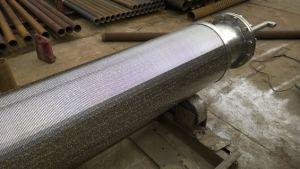 I cinesi fabbricano la fabbrica preimballata del filtro dal tubo d'acciaio di /Gravel del filtro per pozzi dell'acqua