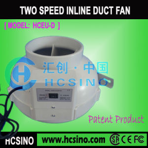PlastikCircular Duct Fan mit Speed Control