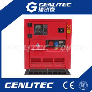 10 ква портативный дизельный генератор с двумя односпальными кроватями Water-Cooled цилиндровый двигатель