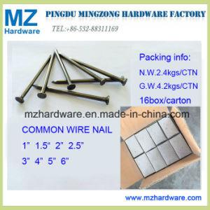 1つのベニンのためのXbwg16明るいポーランドの共通の鉄の釘