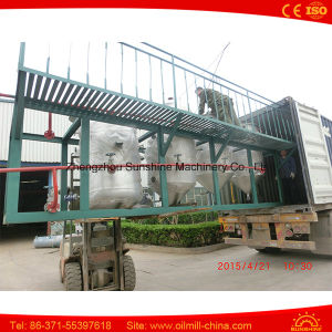5t Crude Oil Refining Machine Palm Oil Refining Machine
