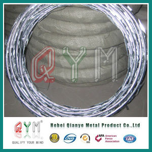 Collegare a fisarmonica a fisarmonica del recinto di filo metallico della sbavatura rasoio/del filo/del rasoio