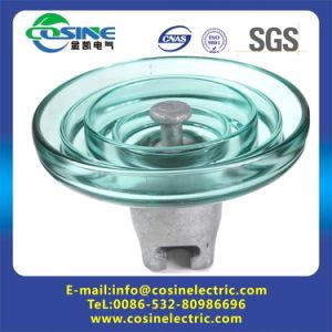 Isolateur de verre à la norme CEI approuvé