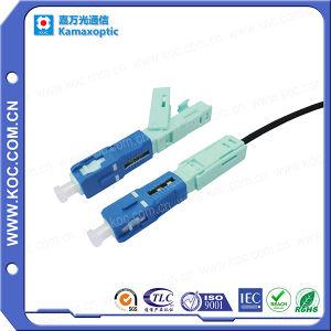 Câble de descente rapide sc Installer le connecteur à fibre optique