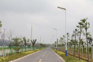 En el exterior IP65, calle la luz solar al aire libre todo en uno de las luces solares Farolas Solares 8W-120W