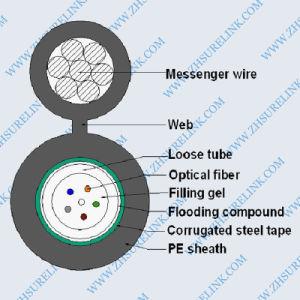 GYTA53 Cinta de acero Vehículos blindados de cable de fibra óptica