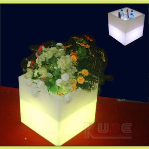 Светодиод светится мебель Cube Табурет Open Storage - Куб