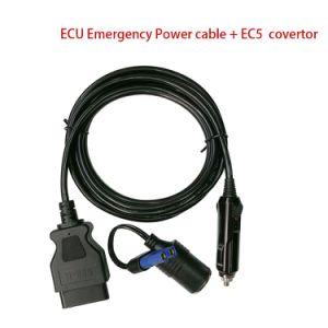 Alquiler de cable OBD II, ECU del vehículo Cable de alimentación de emergencia de la Memoria guardar cualquier fuente de alimentación de 12V DC DC 12V Batería de plomo ácido
