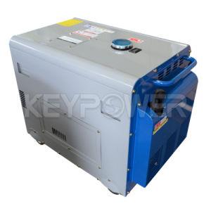 6kVA Air-Cooled Portátil Generador Diesel con motor diesel de 188