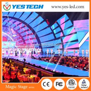 LEDの段階および結婚式のためのビデオダンス・フロア(対話型があることができる)