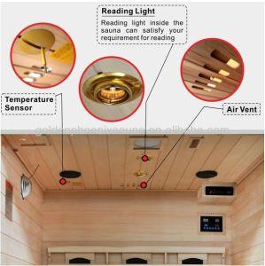 2018 l'intérieur de la famille sec Sauna Infrarouge pour 3 à 4 personne