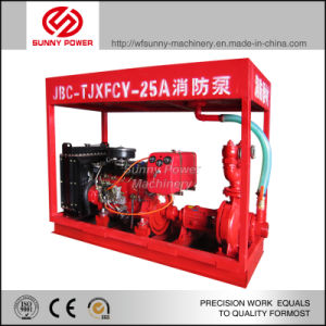 6inch Jockyポンプ圧力150psiのディーゼル火の水ポンプ