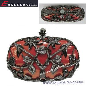 Boîte en métal, le soir Sac, boîte en métal, Frame, mode d'embrayage sac à main, Parti Sac, Sac, Sac de noces de diamant, (CX11117)