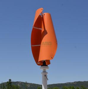 generatore verticale di energia eolica di asse di 600W 12V/24V