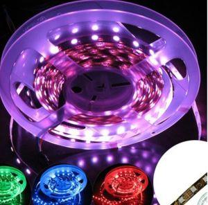 China 60 LEDs de alto rendimiento/M Flexible SMD5050 RGB LED DE TIRA la Luz - China TIRA DE LEDS LED, tira de luces.