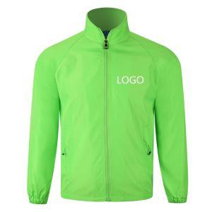 通気性の速乾燥の長い袖の実行または循環の摩耗のダスターコート