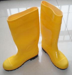 De Laarzen van de Regen van pvc van de Veiligheid van de mens, Werkende Laarzen, Beschermend Schoeisel, de Laarzen van de Regen van de Mijnheer, Waterdichte Laarzen