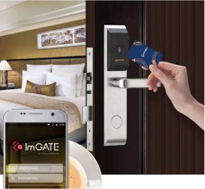 ホテルのためのOrbita RFIDの鍵カードのBluetoothのドアハンドルロックかホームまたはオフィス