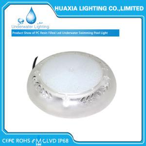 Водонепроницаемая IP68 12 вольт полимера заполнены светодиод под водой бассейн лампа
