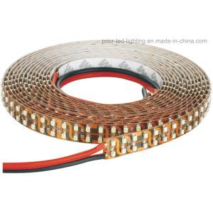 3528 de doble hilera de 5m LED SMD 1200 Lámina Flexible de luz