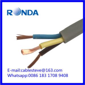 Fuente de alimentación conductor de cobre de aislamiento de PVC flexible cable eléctrico