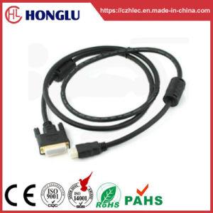 Rundes HDMI zum DVI Kabel